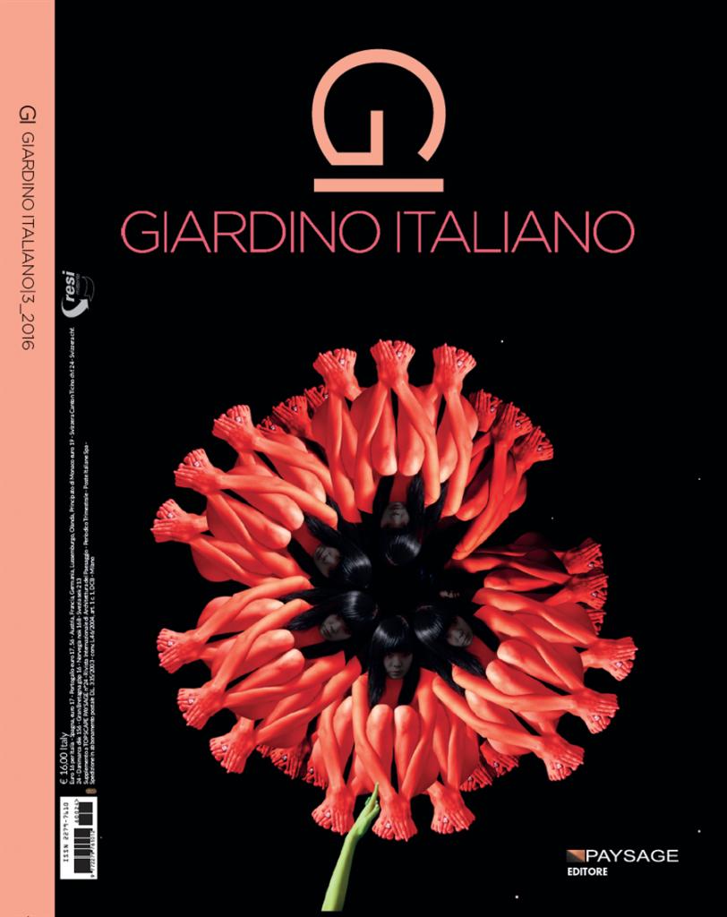 Copertina rivista Paysage - giardino italiano nr. 3/2016